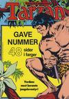 Cover for Tarzan album (Atlantic Forlag, 1977 series) #[3/1981] - Tarzan gavenummer - julespesial