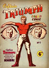 Cover for Captain Triumph Color Comic (K. G. Murray, 1948 series) #7