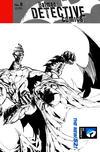 Cover Thumbnail for Detective Comics (2011 series) #8 [Tony S. Daniel Black & White Wraparound Cover]