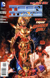 Cover for Teen Titans (DC, 2011 series) #11