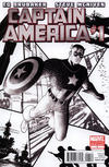 Cover for Captain America (Marvel, 2011 series) #1 [2nd Printing Variant]