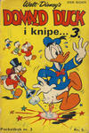 Cover Thumbnail for Donald Pocket (1968 series) #3 - Donald Duck i knipe ... [1. opplag]