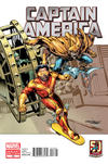 Cover Thumbnail for Captain America (2011 series) #13 [Amazing Spider-Man In Motion Variant Cover]