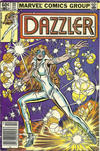 Cover for Dazzler (Marvel, 1981 series) #20 [Newsstand]