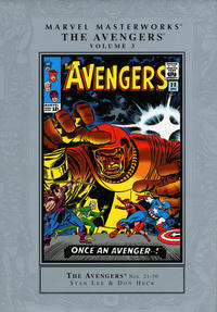Cover Thumbnail for Marvel Masterworks: The Avengers (Marvel, 2003 series) #3 [Regular Edition]