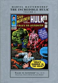 Cover Thumbnail for Marvel Masterworks: The Incredible Hulk (Marvel, 2003 series) #2 [Regular Edition]