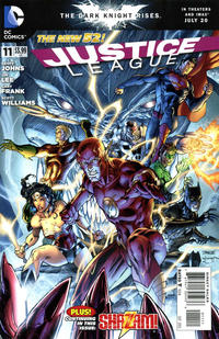 Cover Thumbnail for Justice League (DC, 2011 series) #11 [Direct Sales]