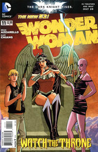 Cover Thumbnail for Wonder Woman (DC, 2011 series) #11