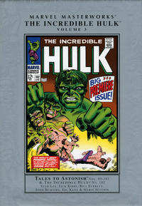 Cover for Marvel Masterworks: The Incredible Hulk (Marvel, 2003 series) #3 (56) [Limited Variant Edition]