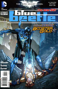 Cover Thumbnail for Blue Beetle (DC, 2011 series) #11