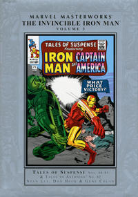 Cover Thumbnail for Marvel Masterworks: The Invincible Iron Man (Marvel, 2003 series) #3 [Regular Edition]
