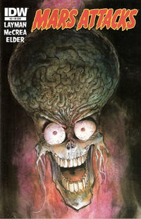 Cover for Mars Attacks (IDW, 2012 series) #2