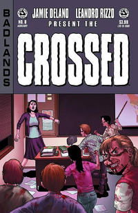 Cover Thumbnail for Crossed Badlands (Avatar Press, 2012 series) #8 [Auxiliary Cover - Jacen Burrows]