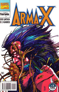 Cover Thumbnail for Arma-X (Planeta DeAgostini, 1992 series) #3
