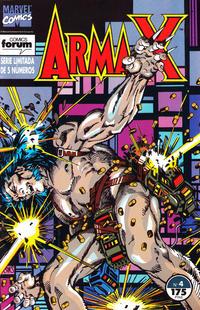 Cover Thumbnail for Arma-X (Planeta DeAgostini, 1992 series) #4