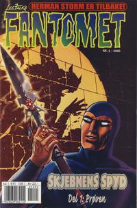 Cover Thumbnail for Fantomet (Hjemmet / Egmont, 1998 series) #5/2000