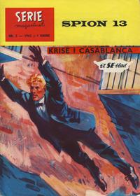 Cover Thumbnail for Seriemagasinet (Serieforlaget / Se-Bladene / Stabenfeldt, 1951 series) #2/1962