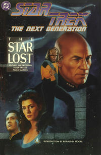 Cover Thumbnail for Star Trek: The Next Generation The Star Lost (DC, 1993 series)
