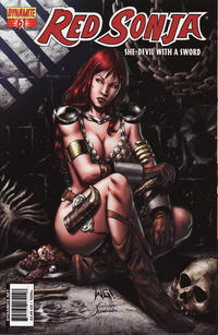 Cover Thumbnail for Red Sonja (Dynamite Entertainment, 2005 series) #61 [Cover A]