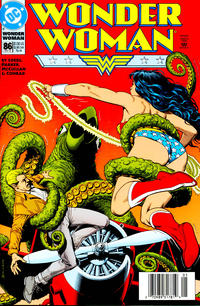 Cover Thumbnail for Wonder Woman (DC, 1987 series) #86 [Newsstand]
