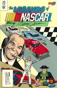 Cover Thumbnail for The Legends of NASCAR (Vortex, 1991 series) #8
