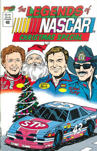 Cover Thumbnail for Legends of NASCAR Christmas Special (Vortex, 1991 series)