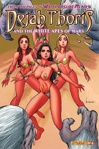 Cover Thumbnail for Dejah Thoris and the White Apes of Mars (Dynamite Entertainment, 2012 series) #2 [Cover B - Alé Garza Variant]