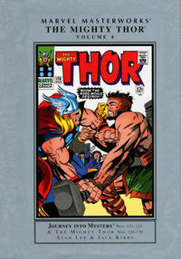 Cover Thumbnail for Marvel Masterworks: The Mighty Thor (Marvel, 2003 series) #4 [Regular Edition]