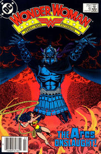 Cover Thumbnail for Wonder Woman (DC, 1987 series) #6 [newsstand]