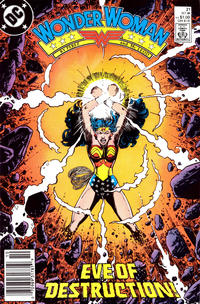 Cover Thumbnail for Wonder Woman (DC, 1987 series) #21 [Newsstand]