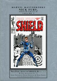 Cover Thumbnail for Marvel Masterworks: Nick Fury, Agent of S.H.I.E.L.D. (Marvel, 2007 series) #3 [Regular Edition]
