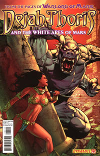Cover Thumbnail for Dejah Thoris and the White Apes of Mars (Dynamite Entertainment, 2012 series) #4