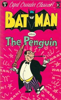 Cover Thumbnail for Caped Crusader Classics! (Titan, 1988 series) #3 - Batman Versus The Penguin