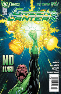 Cover Thumbnail for Green Lantern (DC, 2011 series) #4 [Newsstand]