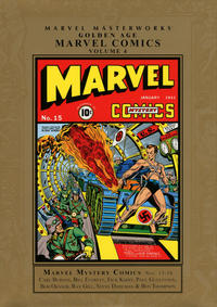 Cover Thumbnail for Marvel Masterworks: Golden Age Marvel Comics (Marvel, 2004 series) #4 [Regular Edition]