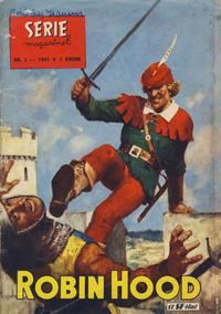 Cover Thumbnail for Seriemagasinet (Serieforlaget / Se-Bladene / Stabenfeldt, 1951 series) #2/1961