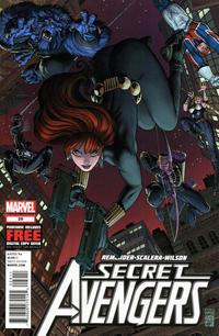 Cover Thumbnail for Secret Avengers (Marvel, 2010 series) #29