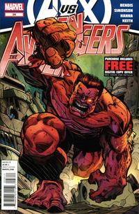 Cover Thumbnail for Avengers (Marvel, 2010 series) #28