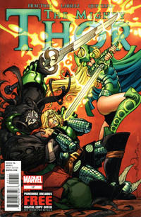 Cover Thumbnail for The Mighty Thor (Marvel, 2011 series) #17