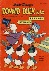 Cover Thumbnail for Donald Duck & Co (Hjemmet / Egmont, 1948 series) #50/1961