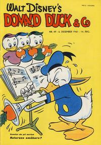 Cover Thumbnail for Donald Duck & Co (Hjemmet / Egmont, 1948 series) #49/1961