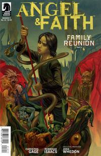 Cover Thumbnail for Angel & Faith (Dark Horse, 2011 series) #12 [Steve Morris Cover]