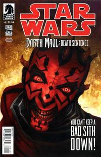 Cover Thumbnail for Star Wars: Darth Maul - Death Sentence (Dark Horse, 2012 series) #1