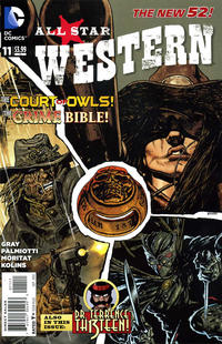 Cover Thumbnail for All Star Western (DC, 2011 series) #11