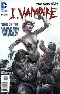 Cover Thumbnail for I, Vampire (DC, 2011 series) #11