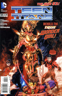 Cover Thumbnail for Teen Titans (DC, 2011 series) #11