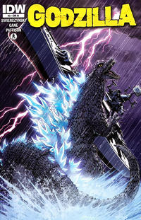 Cover for Godzilla (IDW, 2012 series) #3 [Cover A Zach Howard]