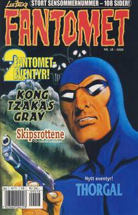 Cover Thumbnail for Fantomet (Hjemmet / Egmont, 1998 series) #18/2000