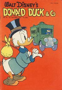 Cover Thumbnail for Donald Duck & Co (Hjemmet / Egmont, 1948 series) #43/1961