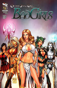 Cover Thumbnail for Grimm Fairy Tales Presents Bad Girls (Zenescope Entertainment, 2012 series) #1 [Cover A Alfredo Reyes]